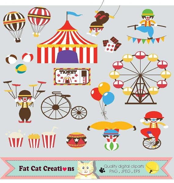 Circus fun fair web. Carnival clipart funfair