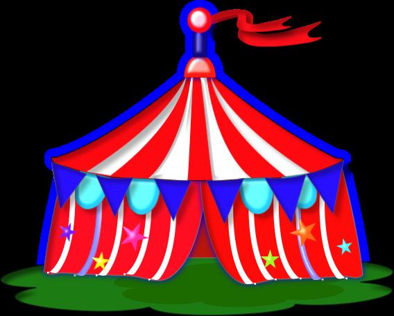 Carnival clipart funfair. Fair tent clip art