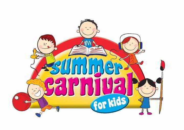 Summer for at landmark. Carnival clipart kids carnival