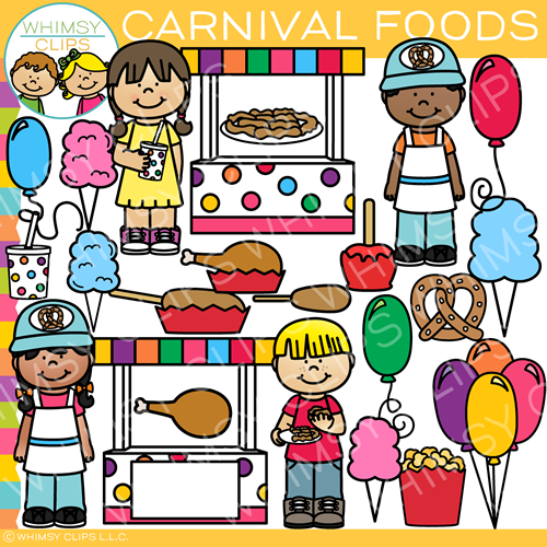 And foods clip art. Carnival clipart kids carnival