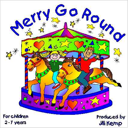 Carnival clipart merry go round. Lambsongs cd