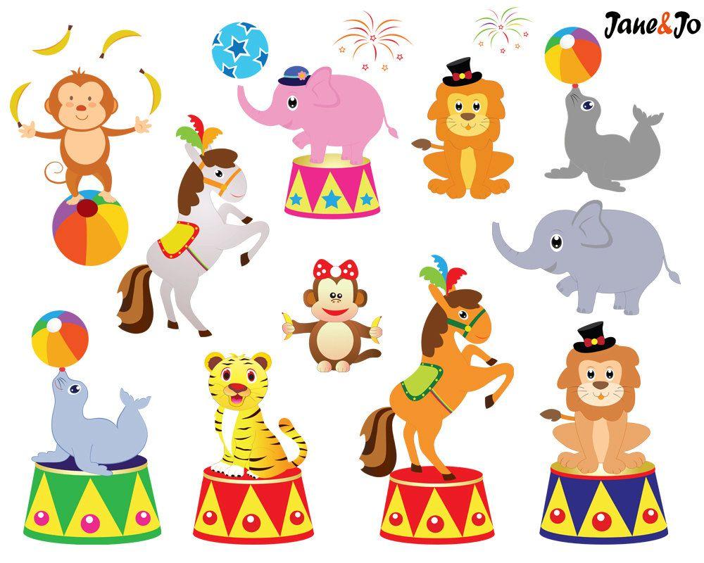 Circus clipart.  clip art clowns