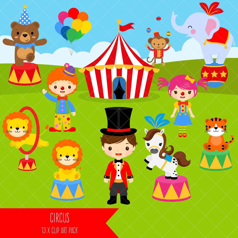 Circus clipart cartoon. Carnival clip art clowns