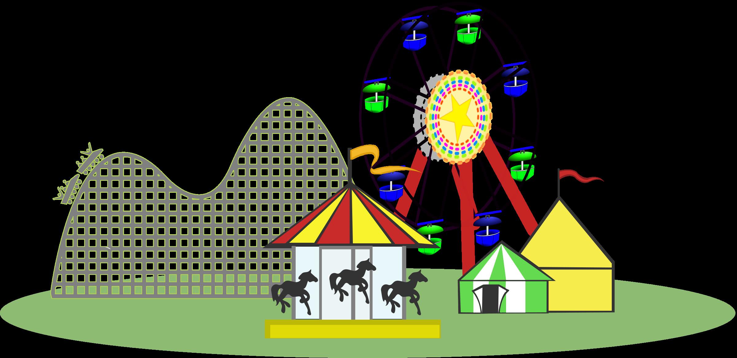 fair clipart fairground ride