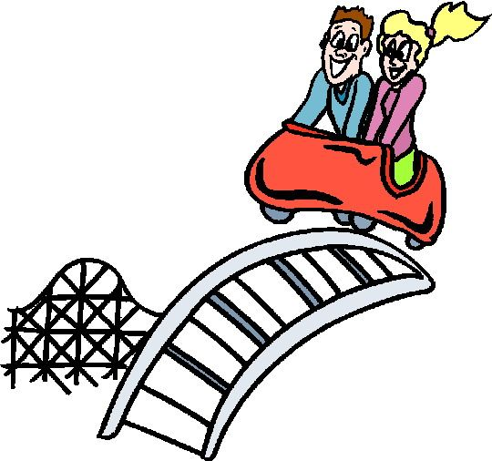 Couples ride let s. Carnival clipart roller coaster