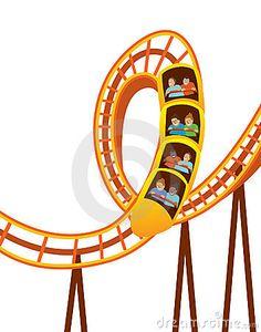 Clip art the high. Carnival clipart roller coaster