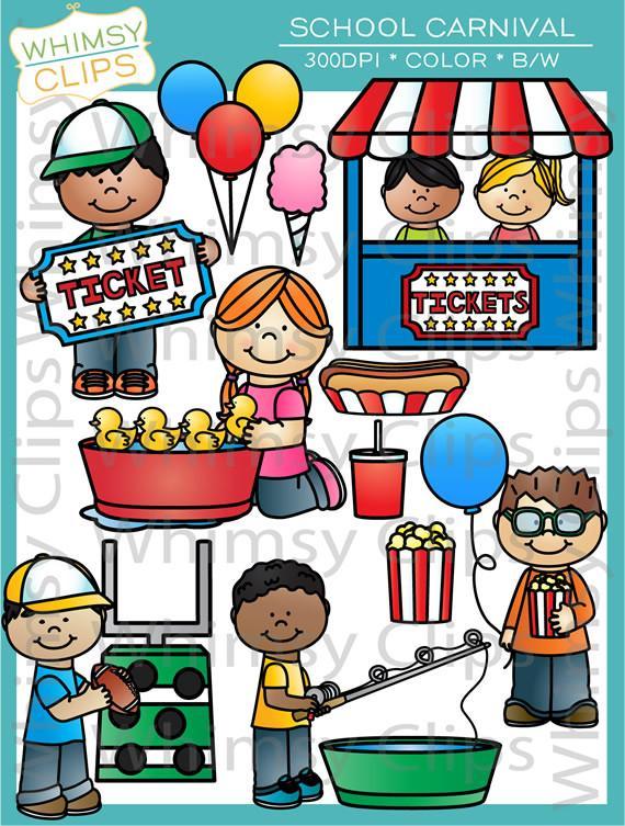 Carnival clipart school carnival. Clip art images illustrations