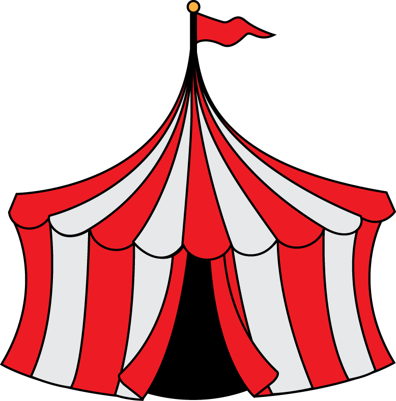 Game clipart carnival. Tent