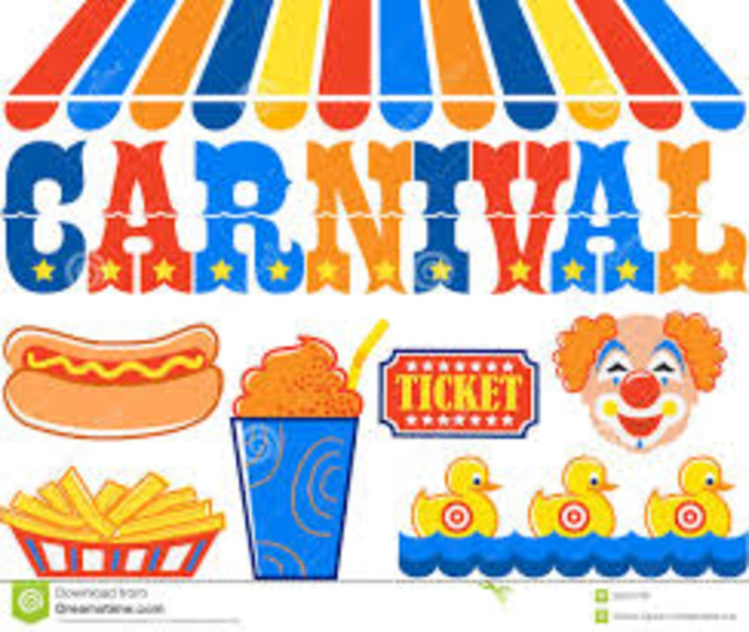 Raffle clipart carnival. Download for free png