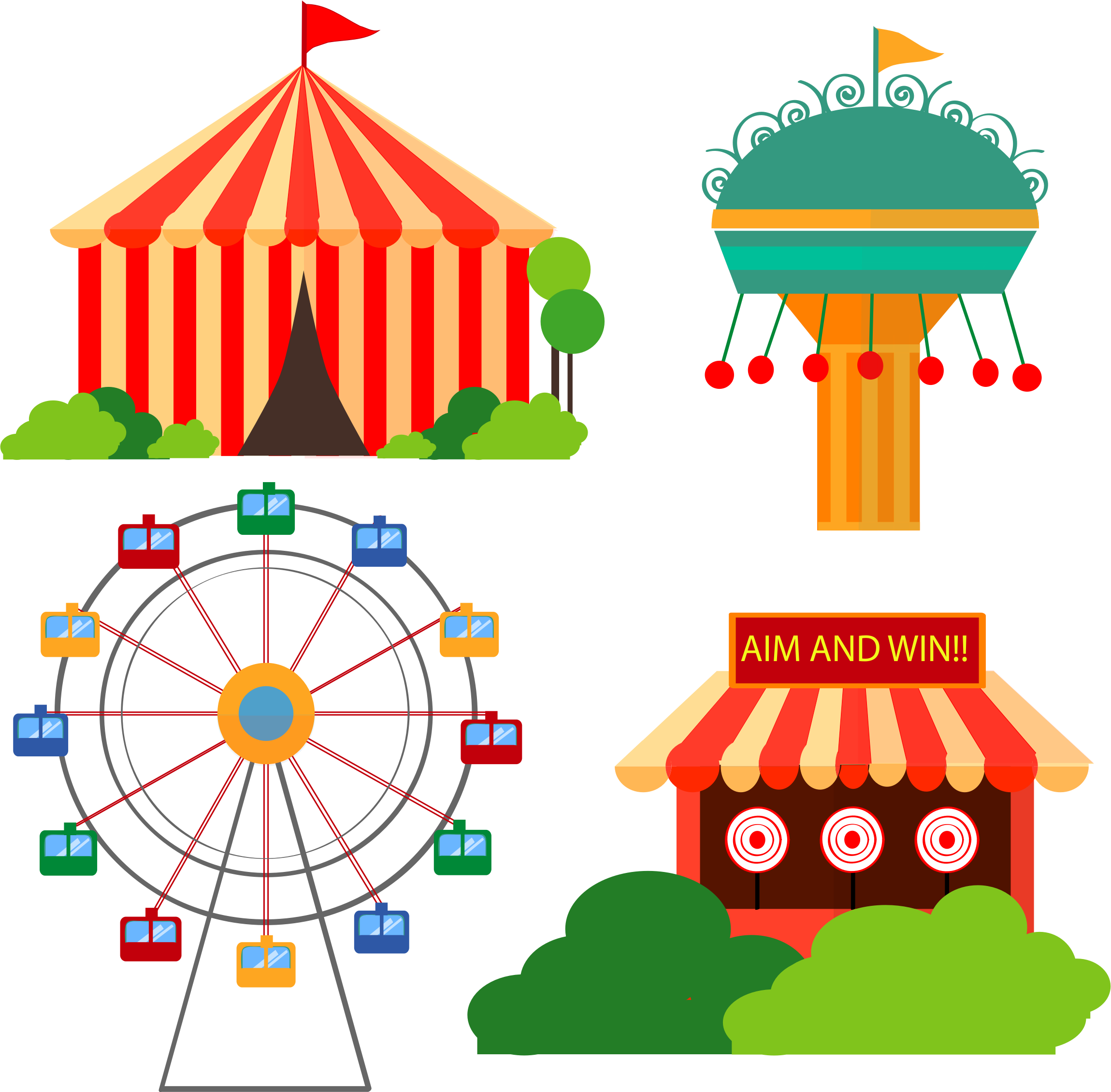 Clipart free carnival. Time by barbie a