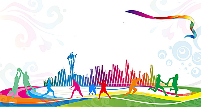 Carnival clipart sports carnival. Celebration gradient background
