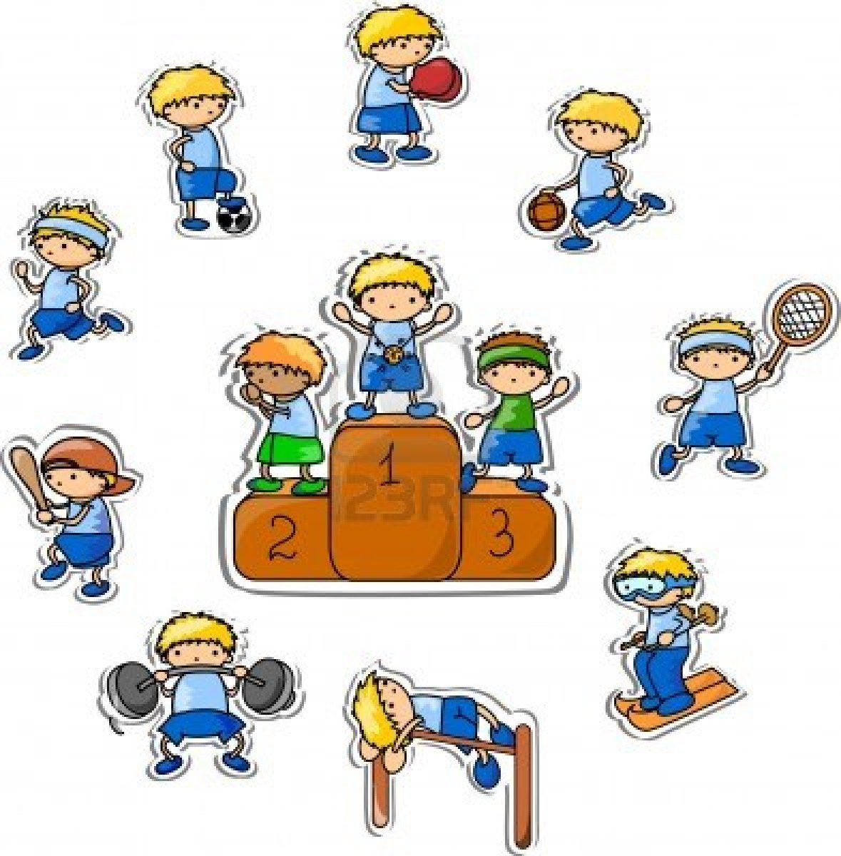 Carnival clipart sports carnival. Cartoon images of when