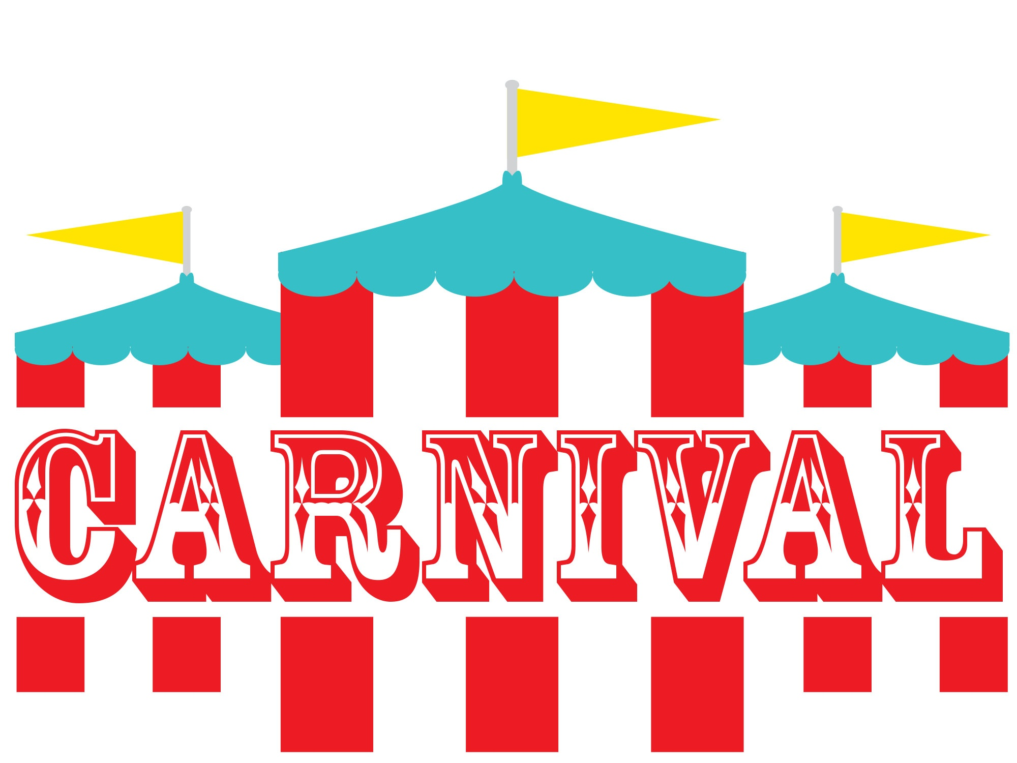 Drop in learning center. Carnival clipart spring