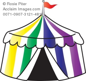 Carnival clipart tent. Circus silhouette at getdrawings