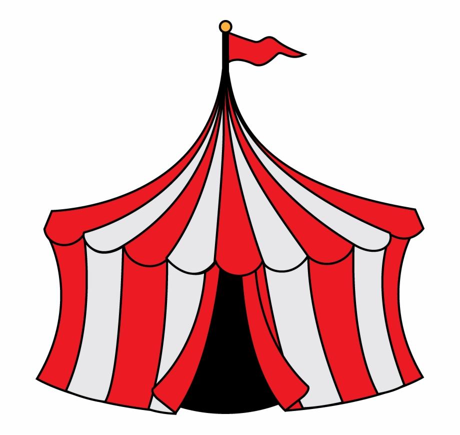 Carnival clipart tent. Cartoon transparent png download