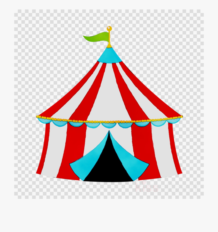 Circus clipart carnival. Birthday tent