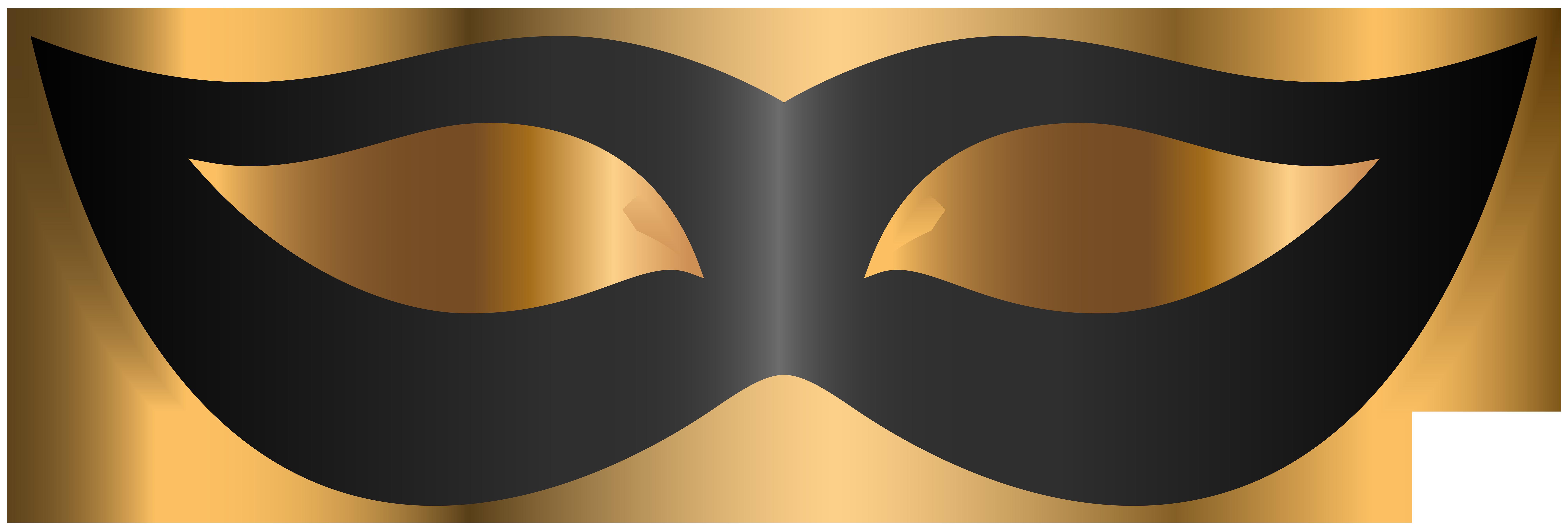Carnival clipart transparent. Black mask png clip