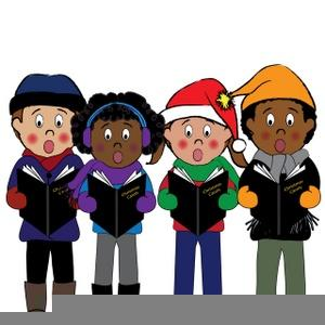 Christmas carolers free images. Caroling clipart animated