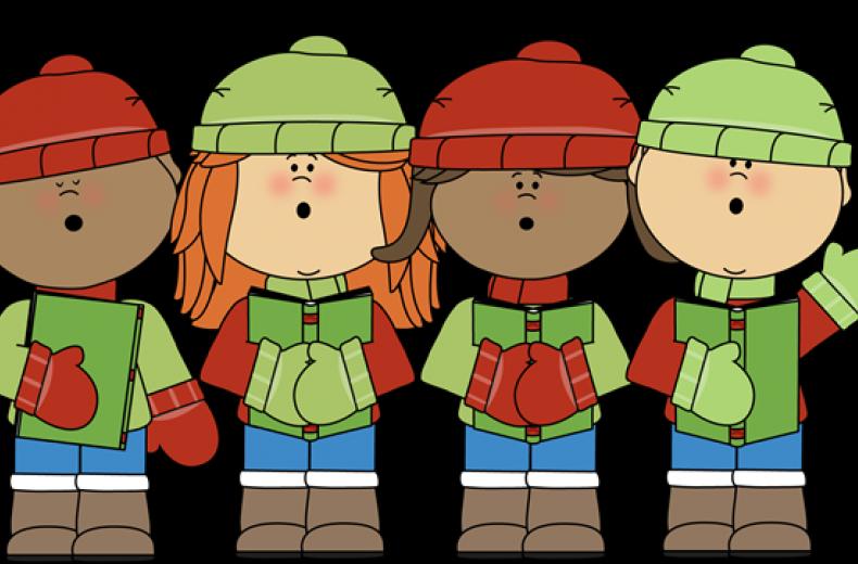 Children s carols hexham. Caroling clipart carol service