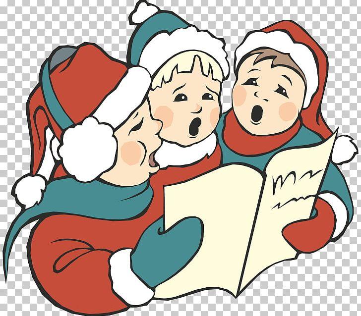 Christmas singing png artwork. Caroling clipart carol service