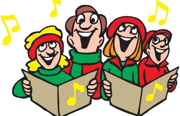 Smyth county carolers chamber. Caroling clipart caroller