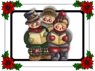 Christmas songs renee jpg. Caroling clipart carols by candlelight