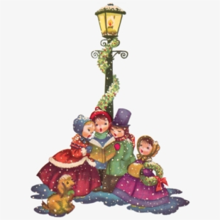 Caroling clipart cartoon. Christmas cliparts carolers
