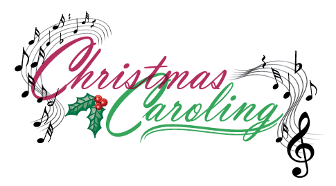 Peace community church bukit. Caroling clipart christmas