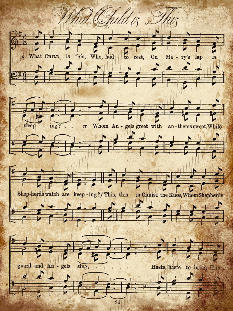 Caroling clipart christmas music notes. In the victorian era