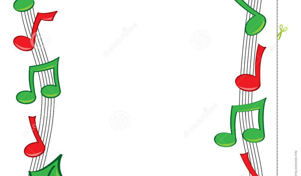 Caroling clipart christmas music notes. For powerpoint clips clipground