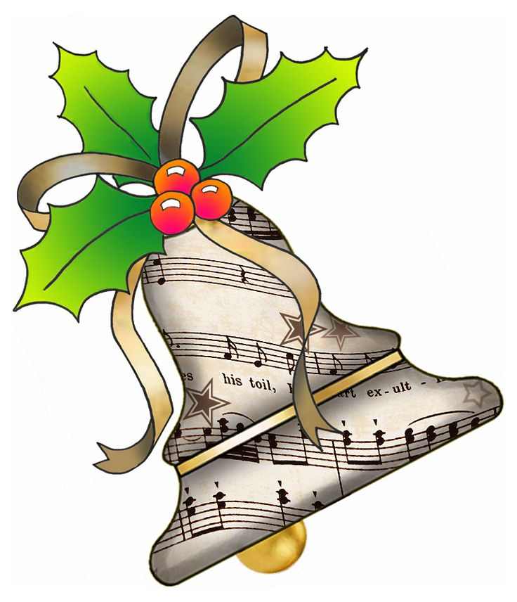 Musical note clip art. Caroling clipart christmas program