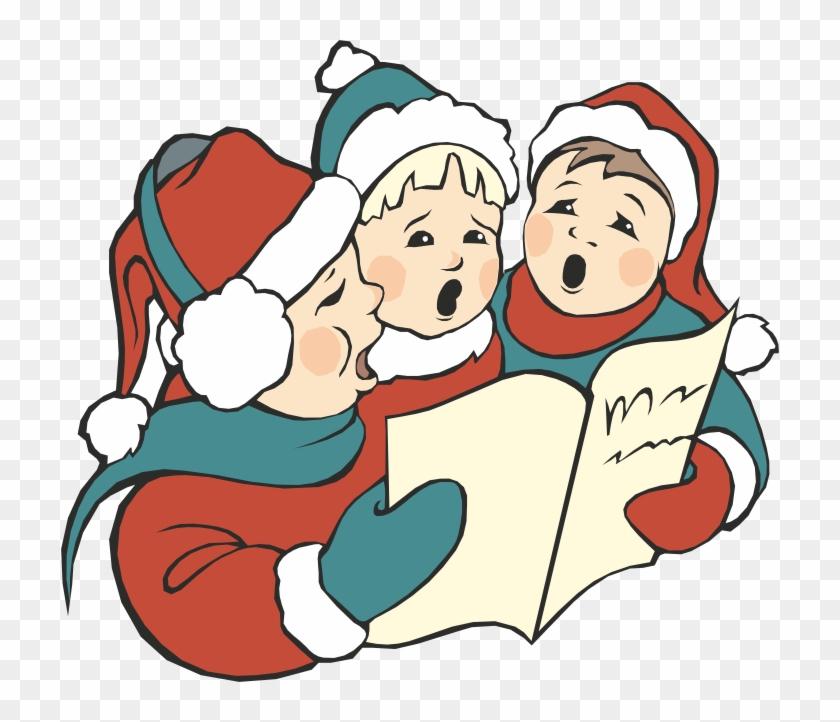 Christmas carol free transparent. Caroling clipart cute