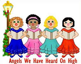 Caroling clipart cute. Christmas carolers free clipground