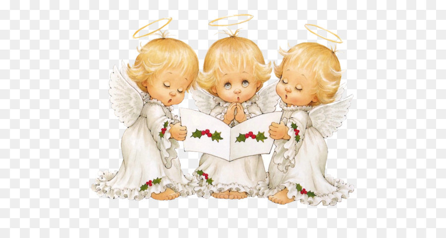 Caroling clipart cute. Christmas angel clip art