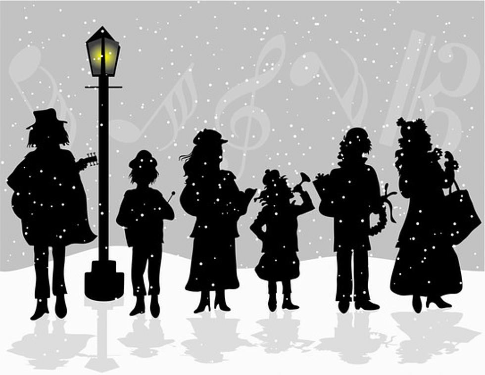 Caroling clipart dancing. Where did christmas come