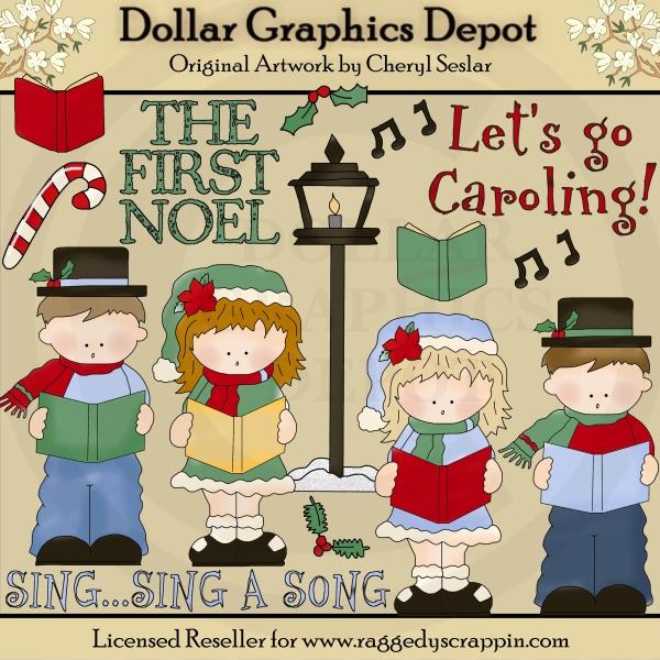 Let s go clip. Caroling clipart dancing
