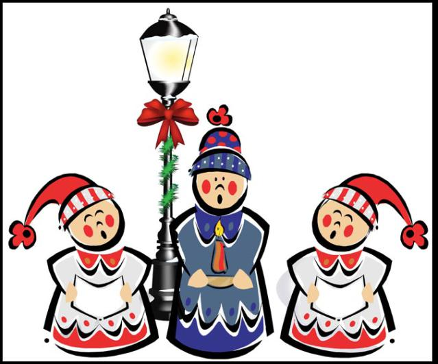 Caroling clipart december. Go day gocarolingday history