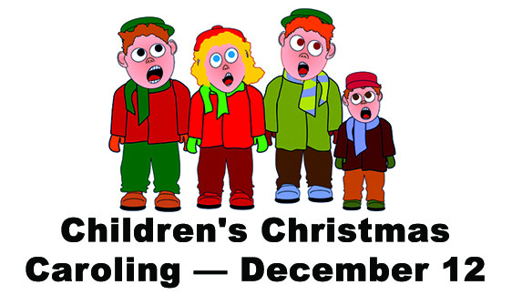 Children s christmas st. Caroling clipart december