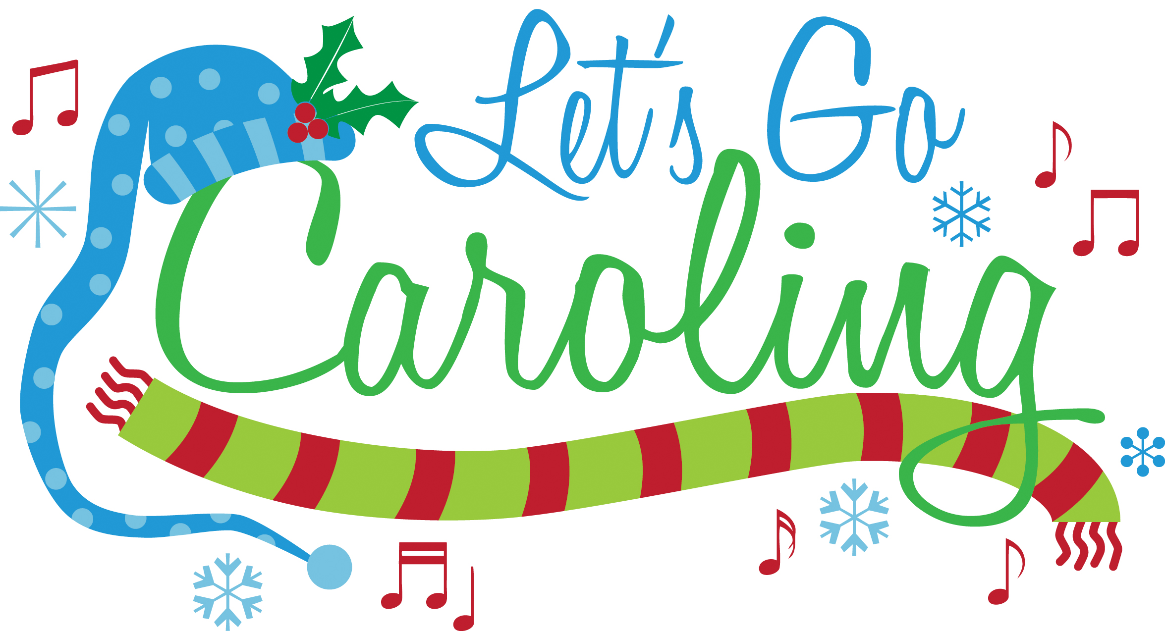 Christmas fairfax nursing home. Caroling clipart december