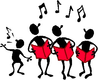 Caroling clipart december. Free christmas carolers download