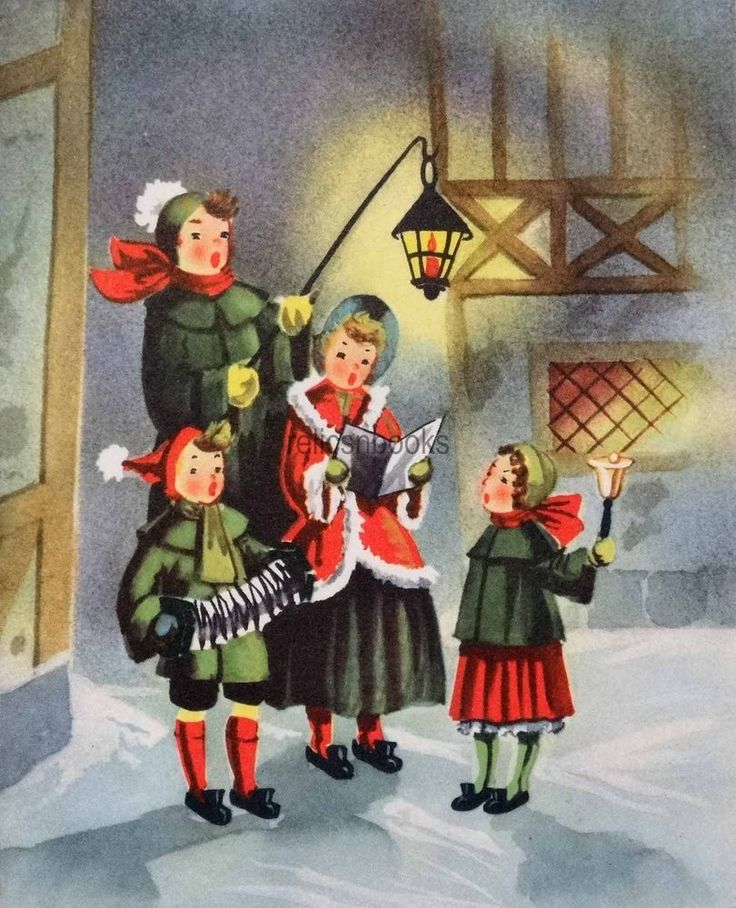 Caroling clipart family.  best images on