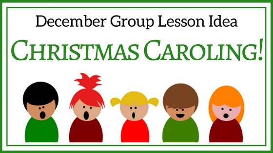Caroling clipart group. December lesson christmas the
