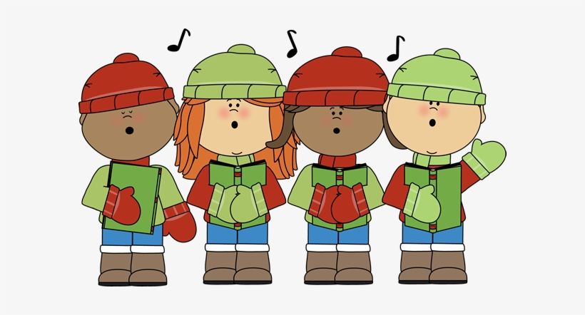 Cannonsburg holiday program clip. Caroling clipart music