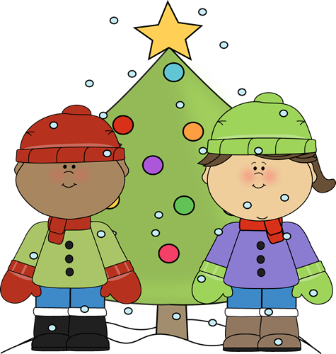 Boy and girl with. Caroling clipart my cute graphics