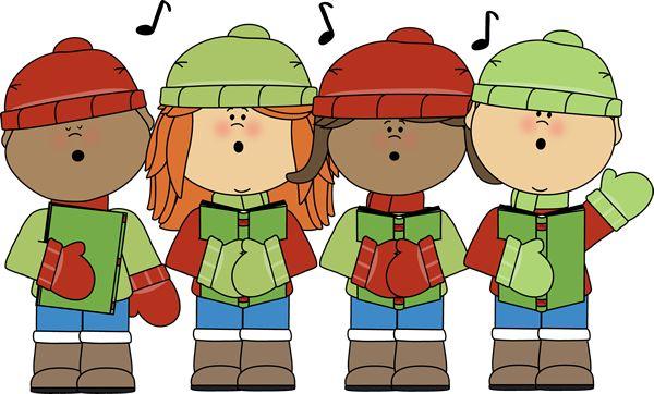 Caroling clipart preschool. Free school christmas cliparts