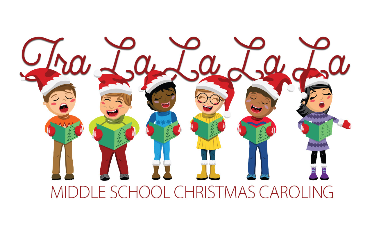 Caroling clipart preschool. Christmas hillcrest christian school