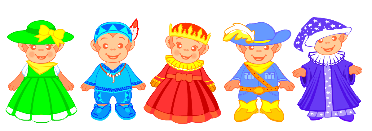 English songs for kids. Caroling clipart preschool