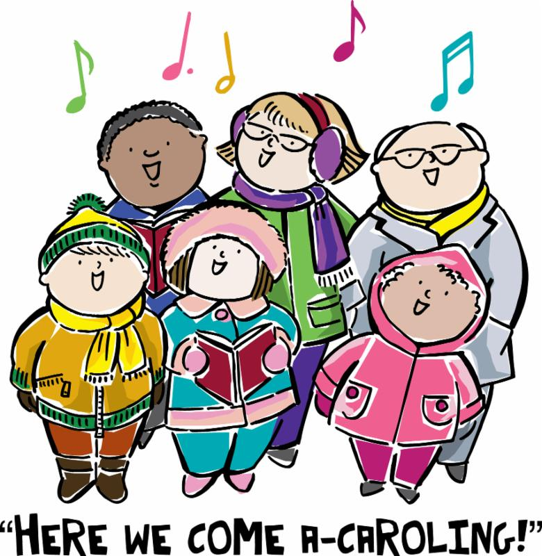 Caroling clipart school. All ages christmas grace