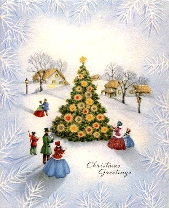 best old post. Caroling clipart singing christmas tree