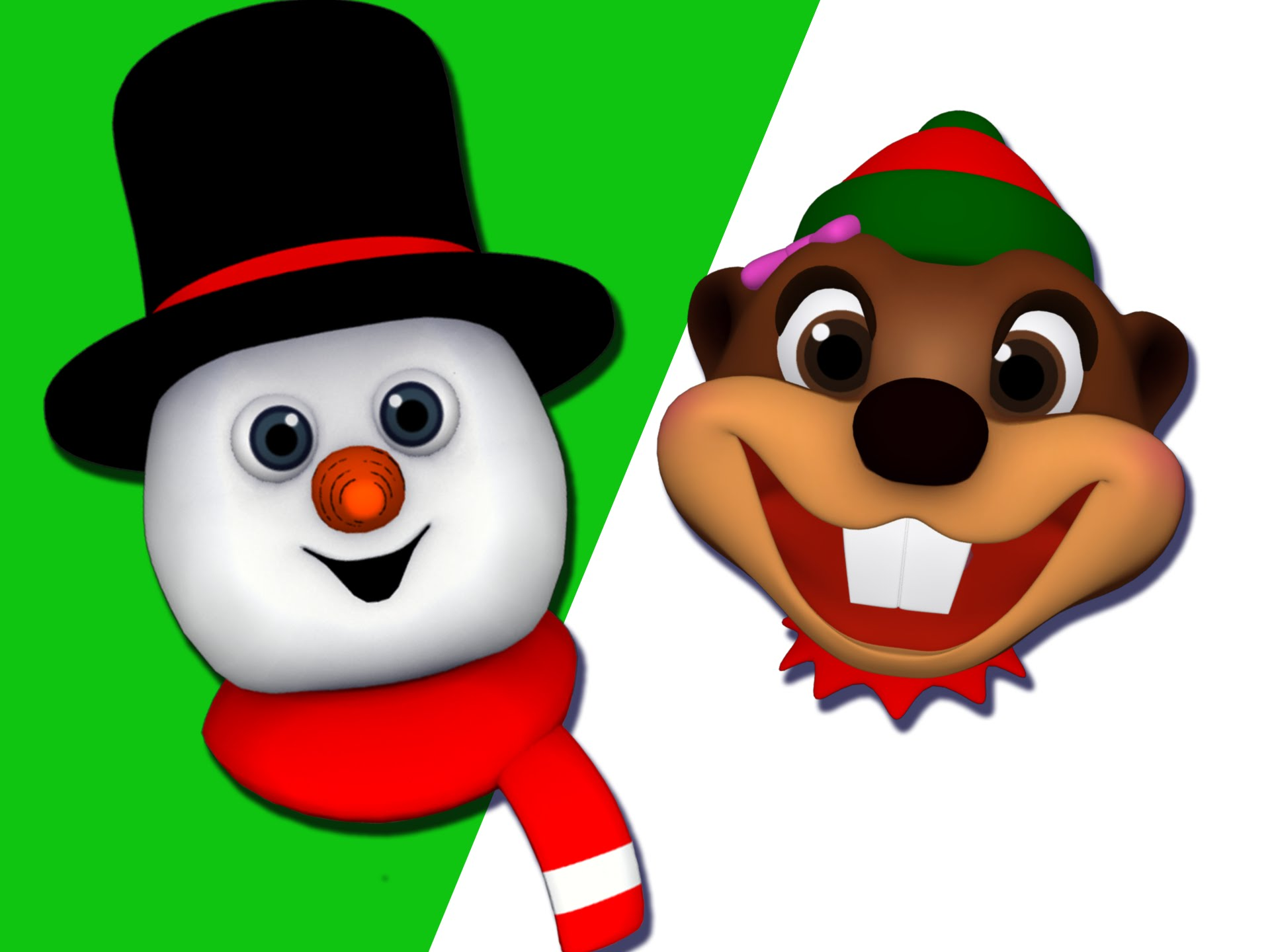 Mr frost tee baby. Caroling clipart singingclip